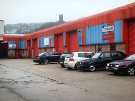 Hurstwood Industrial Units - Carrs Industrial Estate
