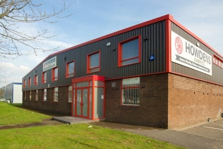 Hurstwood Industrial Property - Howdens Joinery